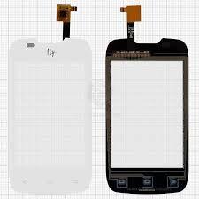 Сенсор (тачскрин) для Fly IQ431 Glory, IQ432 Era Nano 1 белый Оригинал