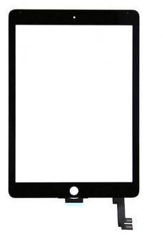 Сенсор (тачскрин) для iPad Air 2 чёрный Оригинал