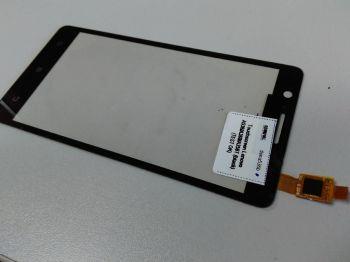 Сенсор (тачскрин) для Lenovo A536, A358T, A368 чёрный Оригинал