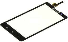 Сенсор (тачскрин) для Lenovo P780 чёрный Оригинал