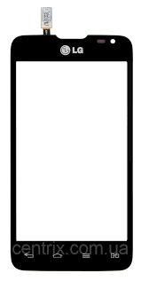 Сенсор (тачскрин) для LG D285 Optimus L65 Dual чёрный Оригинал