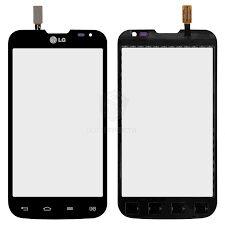 Сенсор (тачскрин) для LG D325 Optimus L70 Dual чёрный Оригинал