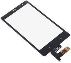 Сенсор (тачскрин) для Nokia X2 Dual Sim чёрный Оригинал