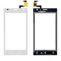 Сенсор (тачскрин) для Prestigio 3458 MultiPhone Wize O3 PSP3458 Duo белый Оригинал