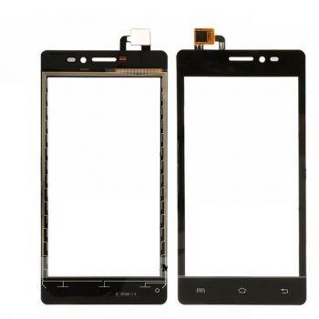 Сенсор (тачскрин) для Prestigio 3503, 3505, 3509, 3519 MultiPhone PSP Duo чёрный Оригинал