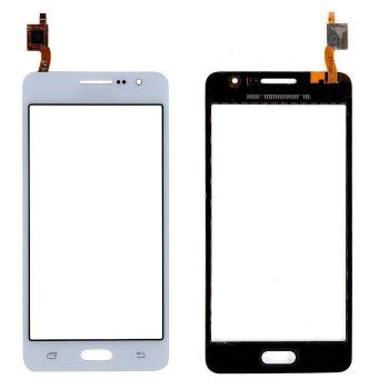 Сенсор (тачскрин) для Samsung J100H, DS, J100, J100F Galaxy J1 Duos белый Оригинал