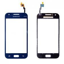 Сенсор (тачскрин) для Samsung J100H, DS, J100, J100F Galaxy J1 Duos синий Оригинал