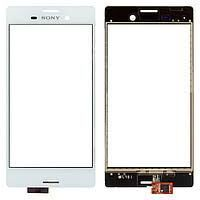 Сенсор (тачскрин) для Sony E5803 Xperia Z5 Compact mini, E5823 белый Оригинал