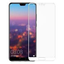Стекло сенсорного экрана Huawei P20 Pro белое Оригинал