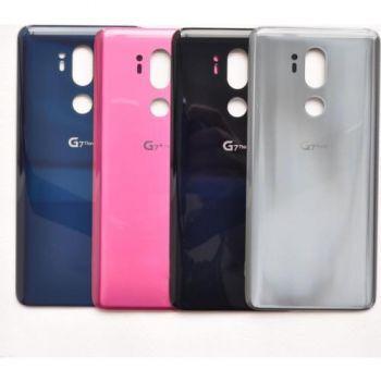 Задняя крышка корпуса LG G7 G710, G710EM ThinQ DS серая Оригинал