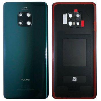 Задняя крышка корпуса Huawei Mate 20 Pro LYA-L09, LYA-L29, LYA-AL00, LYA-AL10, LYA-L0C зеленая Оригинал