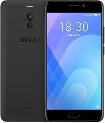 Задняя крышка Meizu M6 Note чёрная оригинал