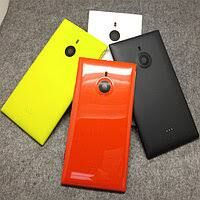 Задняя крышка Nokia 1520 Lumia желтая