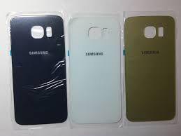 Задняя крышка Samsung G920F Galaxy S6 белая оригинал