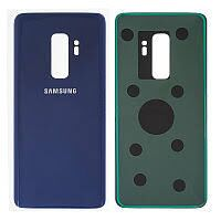 Задняя крышка Samsung G965F Galaxy S9 Plus, голубая, Coral Blue, оригинал