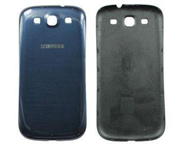 Задняя крышка Samsung i9300 Galaxy S3 синяя