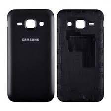 Задняя крышка Samsung J120H Galaxy J1 (2016) чёрная