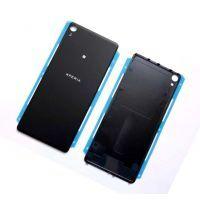 Задняя крышка Sony F3111 Xperia XA/ F3112/ F3113/ F3115/ F3116 чёрная (Graphite Black)