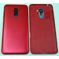 Задняя крышка Xiaomi Pocophone F1 красная, Rosso Red