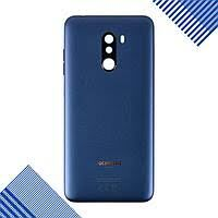 Задняя крышка Xiaomi Pocophone F1 синяя, Steel Blue