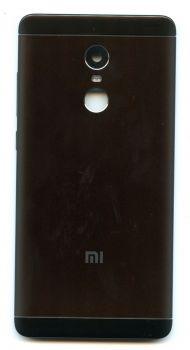 Задняя крышка Xiaomi Redmi Note 4X/ Note 4X MediaTek черная